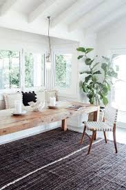 White Bench For Kitchen Table 10 Best Ideas About Long Dining Tables On Pinterest Long Dining