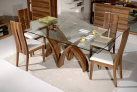 dining room glass top tables with wood base unique wine round table design idea frost