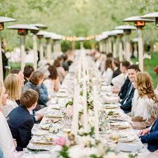 wedding reception meal styles ideas