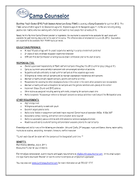 After School Counselor Job Description For Resume Best Of Camp