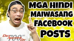 Mga Hindi Maiwasang Facebook Posts Tagalog Potsquared