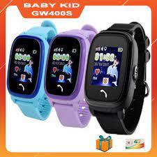 Đồng hồ thông minh định vị GPS trẻ em SIÊU chống nước Baby Kid GW400S giá rẻ  nhất Hà Nội, HCM