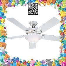 i代購 美國代購免州稅含運 hunter fan company 53107 brookline 52 inch white ceiling fan with five white blades a