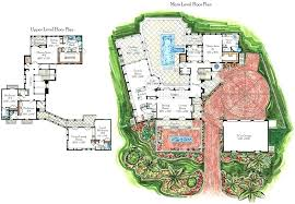 tuscan villa house plans