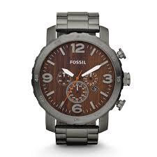 nate chronograph smoke stainless steel watch fossil nate chronograph smoke stainless steel watch