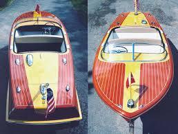 diy wood boat chris craft