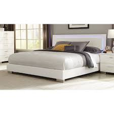 Felicity King Low Profile Bed with LED Backlight by Coaster