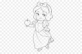 Biancaneve Sette Nani Da Colorare Principessa Disney Bambino