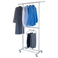 Double Coat Rack Classy Wardrobe Racks Outstanding Double Clothes Rack Doubleclothesrack