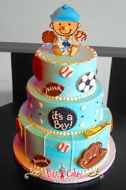 Mickey Mouse Baby Shower Cake  Bb  Pinterest  Mickey Mouse Baby Baby Mickey Baby Shower Cakes