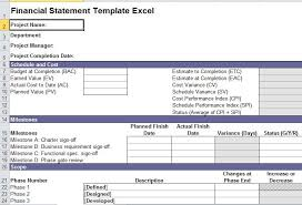 financial statement template for excel financial statement template excel excel templates pinterest
