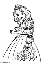 Immagini Di Rapunzel Da Stampare E Colorare Gratis Portale Bambini