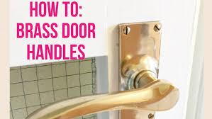 brass door hardware. brass door hardware