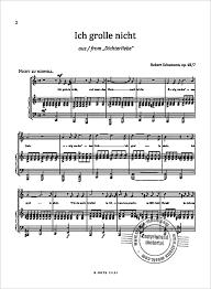 ich grolle nicht sheet music ich grolle nicht from robert schumann buy now in our stretta sheet