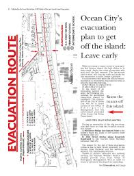 Tide Chart Ocean City Nj Evacuation Route Map