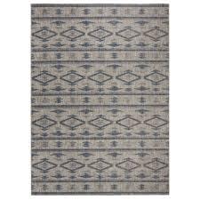 safavieh courtyard collection contemporary indoor outdoor area rug 8x11 grey navy
