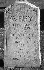 Edith Avery (Severance) (1850 - 1919) - Genealogy