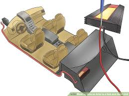 how to wire an amp to a sub and head unit 12 steps how to wire up a sub and amp diagram image titled wire an amp to a sub and head unit step 2