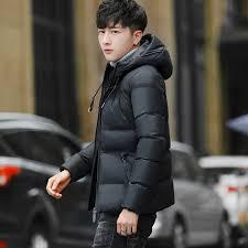 brand winter men jacket 2017 casual hot high quality soild color mens jackets coats men