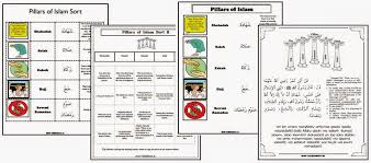 Iman's Home-School: Pillars of Islam Worksheets