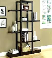 small freestanding shelf unit best standing bookshelves bookcases free shelves ideas white corner outstanding shelving wooden