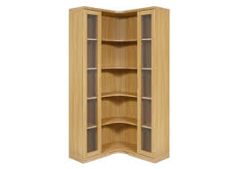 Contemporary Huxley Corner Cabinet Design by Woodberry Brothers and Haines