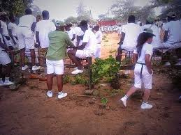 Image result for corper protest in kaduna