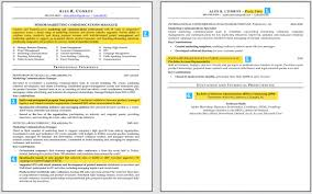 Two Page Resume Format 2 Page Resume Template Download Examples Of