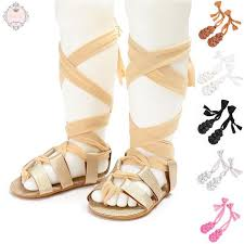 KOKO Kids <b>Baby</b> Girl Toddler <b>Cross</b>-<b>tied</b> Sandals Shoes | Shopee ...