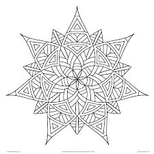 Small Picture Geometric Coloring Pages 2 Throughout Shapes glumme