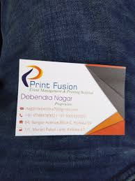 Print Fusion in Lake Town, Kolkata ...