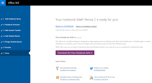 Getting Started With The Onenote Class Notebook A Walkthrough For