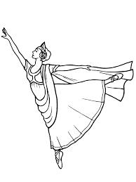 Ballet Danseres Kleurplaat Jouwkleurplaten