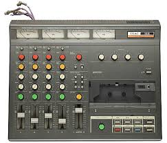 the four track cette recorder that bruce springs used to record his famous nebraska demo