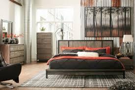 rustic gray bedroom set. Modren Set Cazentine Dark Rustic Gray Platform Bedroom Set Throughout