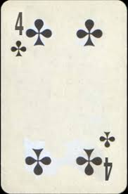 Four Of Clubs Birth Card Free Destiny Cards Reading