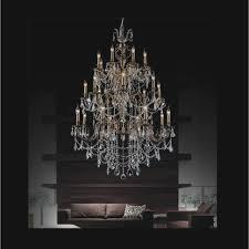 crystal world inc brass 62 light antique brass chandelier