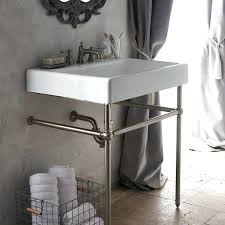 vintage console sink medium size of antique sinks vintage small with stand bathroom metal legs porcelain vintage console sink