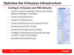 virtuozzo parallels virtuozzo containers best practices ppt video online