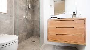Timber Bathroom Accessories The Blocktagon Guest Room And Ensuite Five Teams Many Styles
