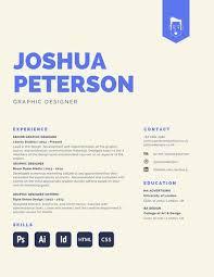 Cool Graphic Design Resumes Creative Design Resumes Guatemalago