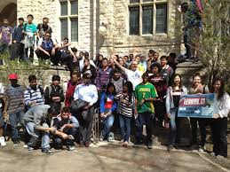 college hosts e job fair with open door society