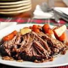 balsamic pot roast  crock pot