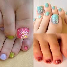 Toe Nails Art Designs for Summer | Trends4us.Com