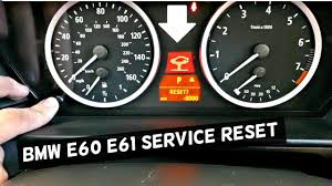 2006 Bmw 525i Service Engine Soon Light Bmw E60 61 How To Reset Service Brake Service Oil Service Reset