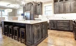 Rustic Shaker Grey Kitchen Cabinets Sample Door Rta All Wood In