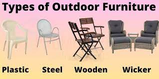 what type of outdoor furniture is the
