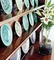 Полка под декоративные тарелки своими руками 79