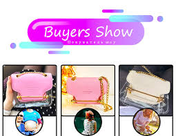 fashion women clear transparent shoulder bags jelly candy summer beach handbag woman messenger bolsa feminina