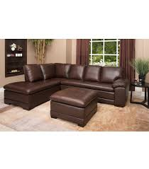 Leather Sectional Living Room Sectionals Metropolitan Leather Sectional